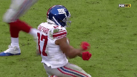 Sterling Shepard Giants GIF - Find & Share on GIPHY