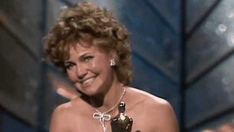 Sally Field Oscars GIF by The Academy Awards - Find & Share on GIPHY