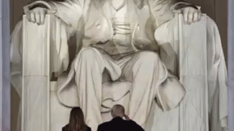 Abraham Lincoln Wishes Donald Trump All The Best! Fuck Off :O GIF - Find & Share on GIPHY