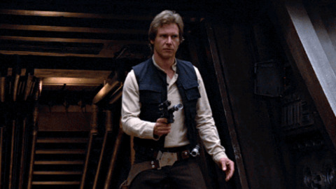 Han Solo Shrug GIF by Star Wars - Find & Share on GIPHY