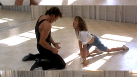 Patrick Swayze Dance GIF - Find & Share on GIPHY