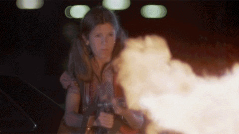 Carrie Fisher Explosion GIF - Find & Share on GIPHY