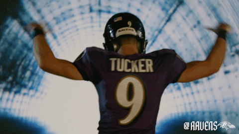 Justin Tucker Goat GIF by Baltimore Ravens - Find & Share on GIPHY
