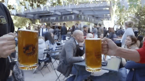 Happy Hour Drinking GIF by Shake Shack - Find & Share on GIPHY