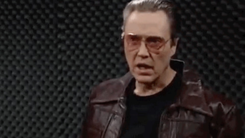 Christopher Walken More Cowbell GIF - Find & Share on GIPHY